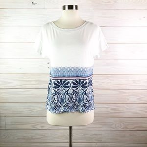 Tommy Bahama T-Shirt Tropical Woman Top Size XS